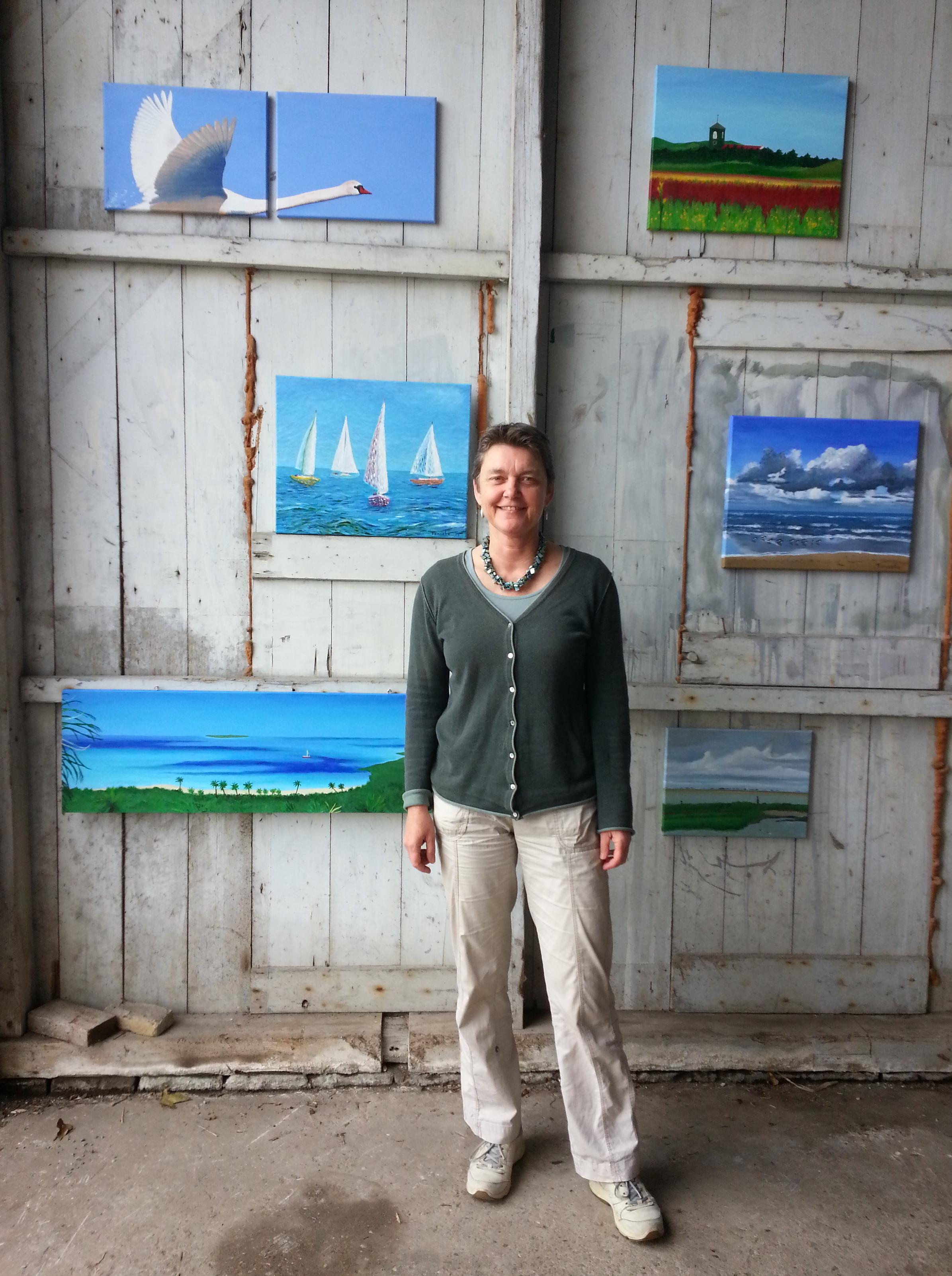 Fenneke Stegehuis Kunstroute Art Callantsoog 2017