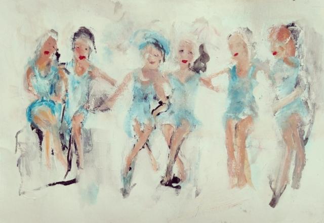 Art Callantsoog, Francien Vos
