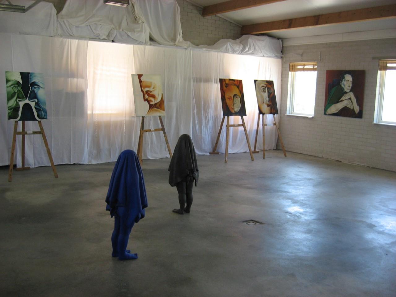 Art Callantsoog, Yvonne de Paauw en Marjan Essink